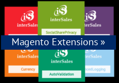 Magento Extensions Shop der interSales AG